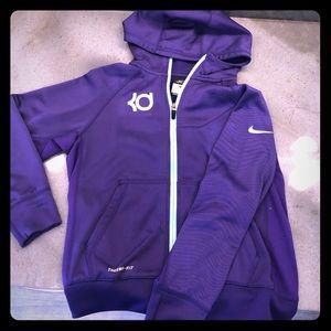 Nike Girls Zippered Hoodie